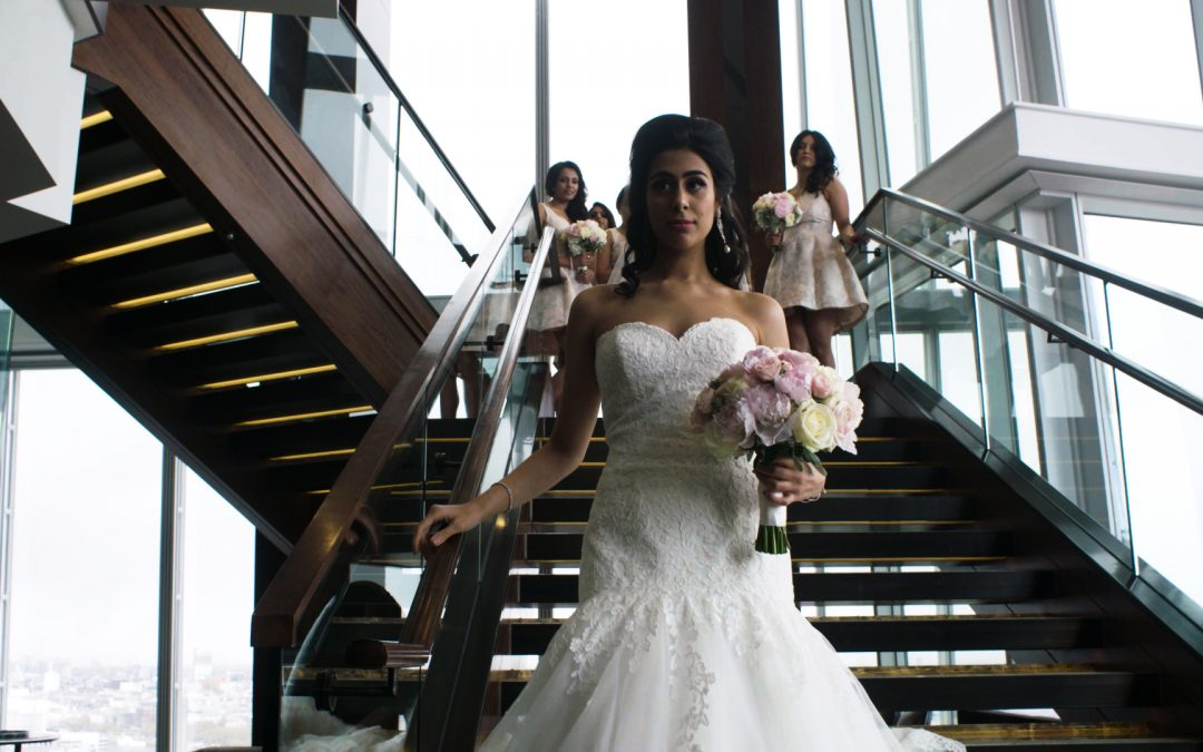 Shangri-la Hotel Weddings, The Shard, London